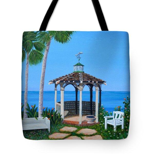 La Jolla Garden Tote Bag