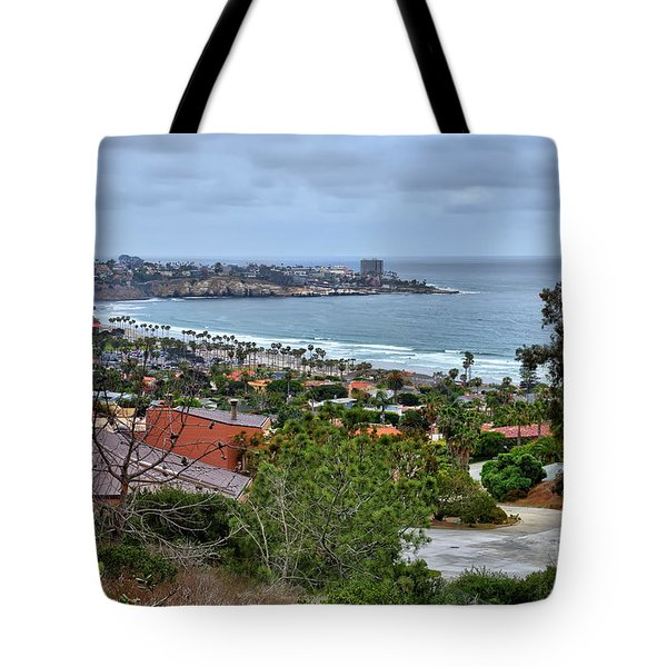 La Jolla Shoreline Tote Bag