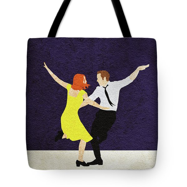 La La Land Alternative And Minimalist Poster Tote Bag