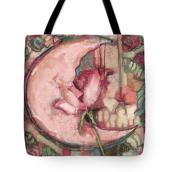 La Luna Rosa Tote Bag