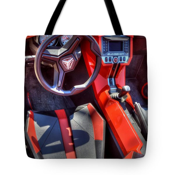 Tote Bag featuring the photograph La Makina by Adrian LaRoque