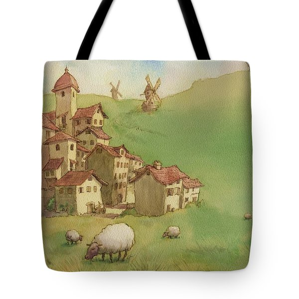 La Mancha Tote Bag by Andy Catling