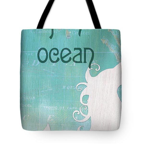 La Mer Mermaid 1 Tote Bag
