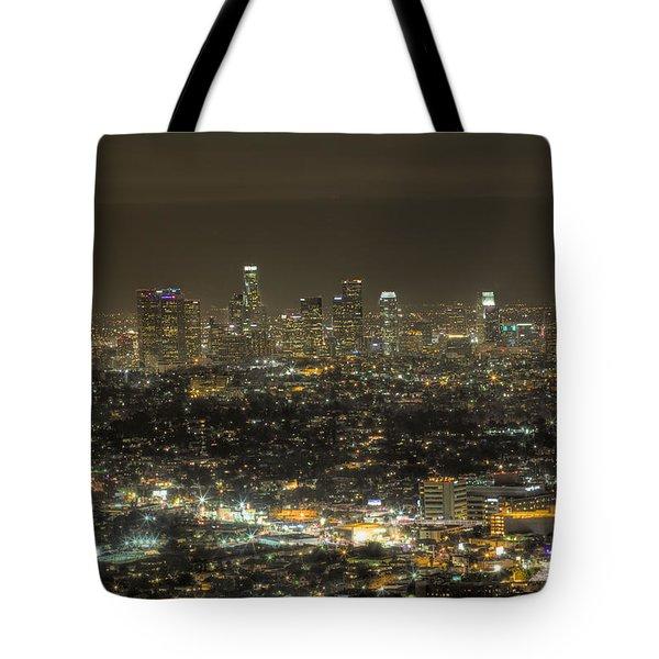 La Nights Tote Bag by Kim Wilson