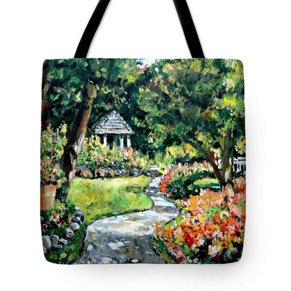La Paloma Gardens Tote Bag by Alexandra Maria Ethlyn Cheshire