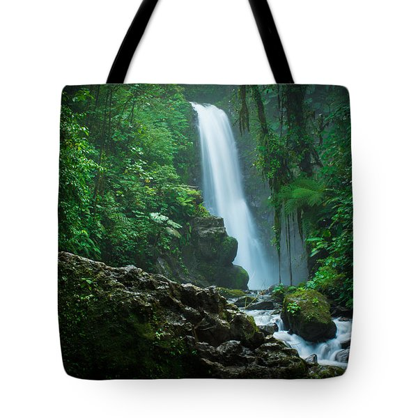 Tote Bag featuring the photograph La Paz Waterfall Costa Rica by RC Pics