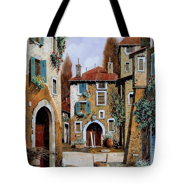 La Piazzetta Tote Bag