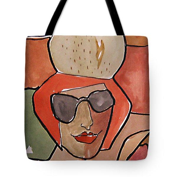 La Pomme Tote Bag