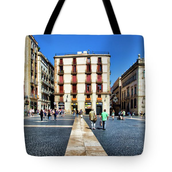 La Rambia Barcelona Spain  Tote Bag