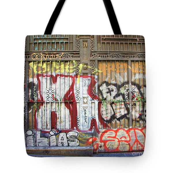 La Rambia Graffiti II Tote Bag