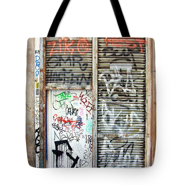 La Rambia Spain Graffiti I Tote Bag