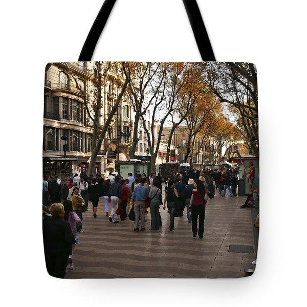 La Rambla II Tote Bag