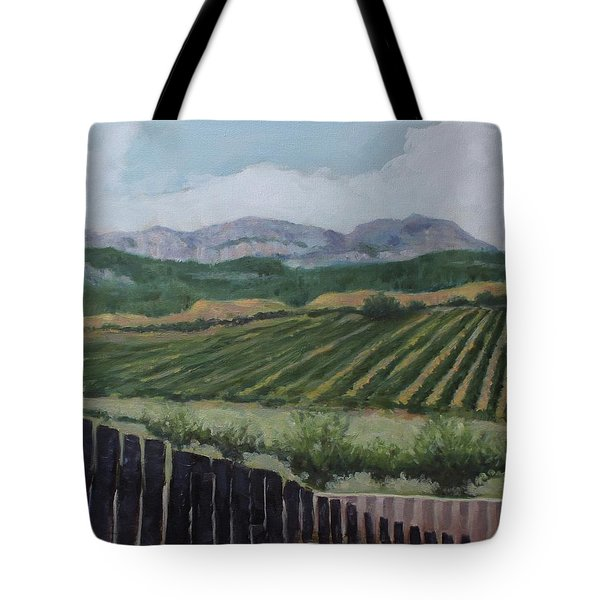 La Rioja Valley Tote Bag