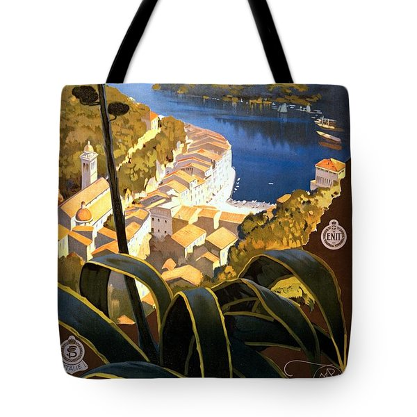 La Riviera Italienne, Travel Poster For Enit, Ca. 1920 Tote Bag
