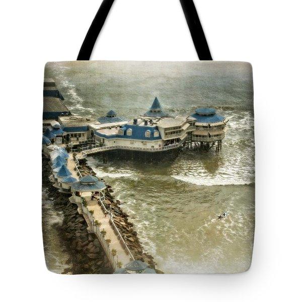 Tote Bag featuring the photograph La Rosa Nautica - Peru by Mary Machare