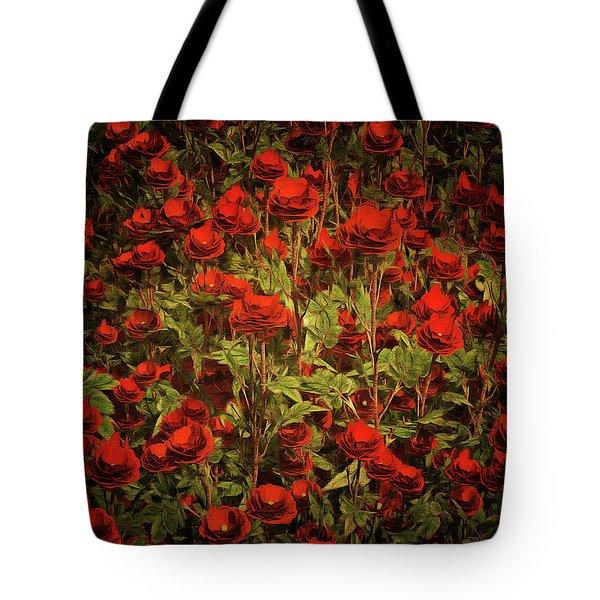 La Sevilliana Roses Tote Bag