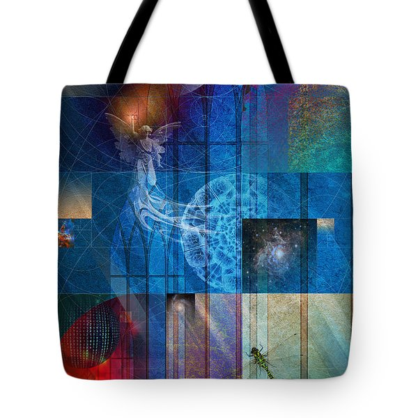 La Signatura Tote Bag by Kenneth Armand Johnson