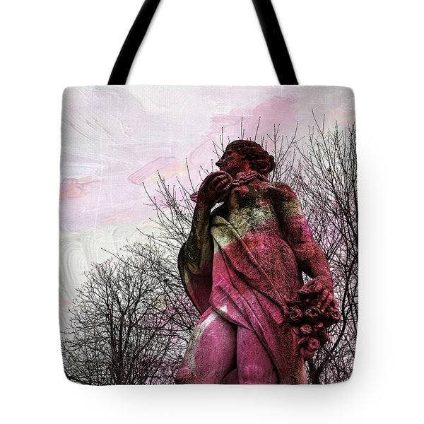 'la Terre' En Rose Tote Bag