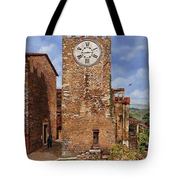 La Torre Del Carmine-montecatini Terme-tuscany Tote Bag
