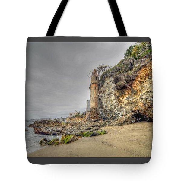 La Tour By The Sea Tote Bag