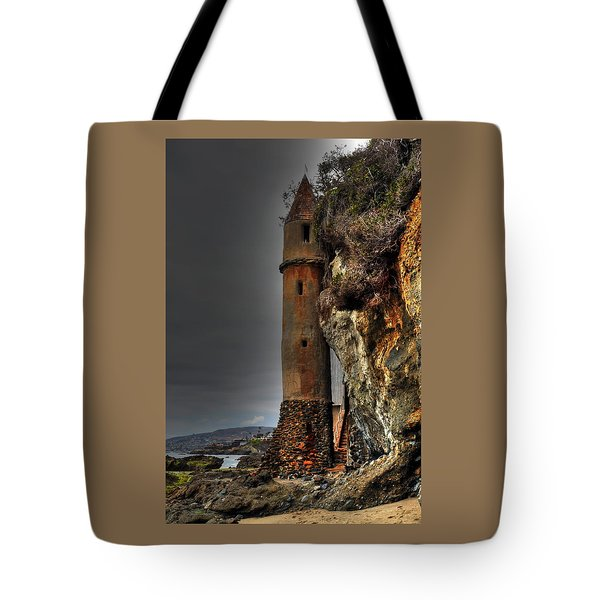 La Tour Upright Tote Bag
