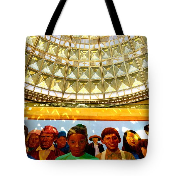La Union Station Mural Tote Bag