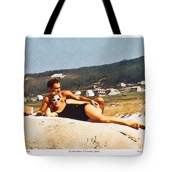 La Vida Dulce,the Sweet Life Tote Bag by Kenneth De Tore