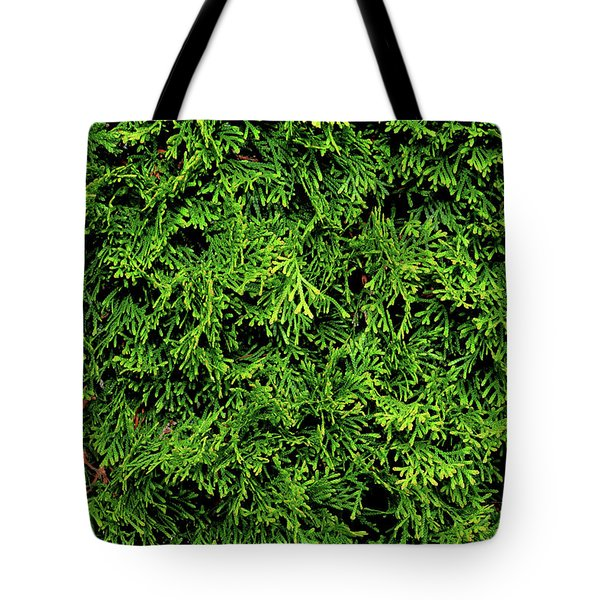 Tote Bag featuring the photograph Life In Green by Dorin Adrian Berbier