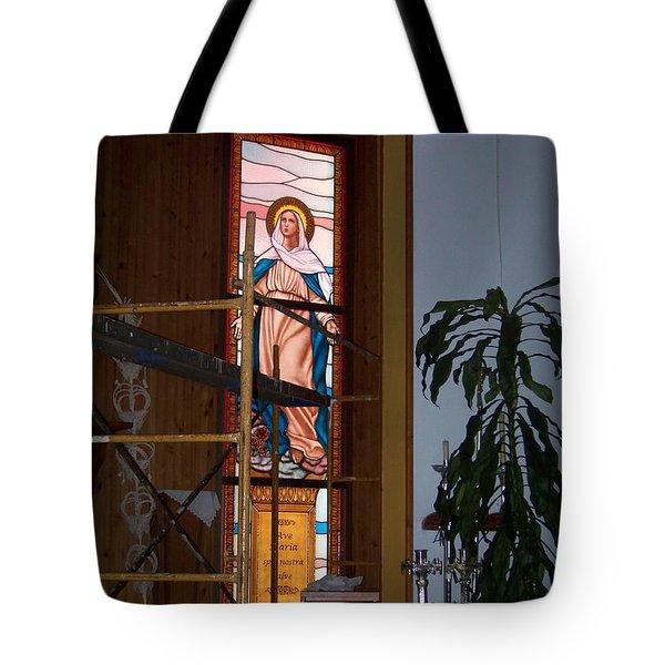 La Virgen Milagrosa Tote Bag
