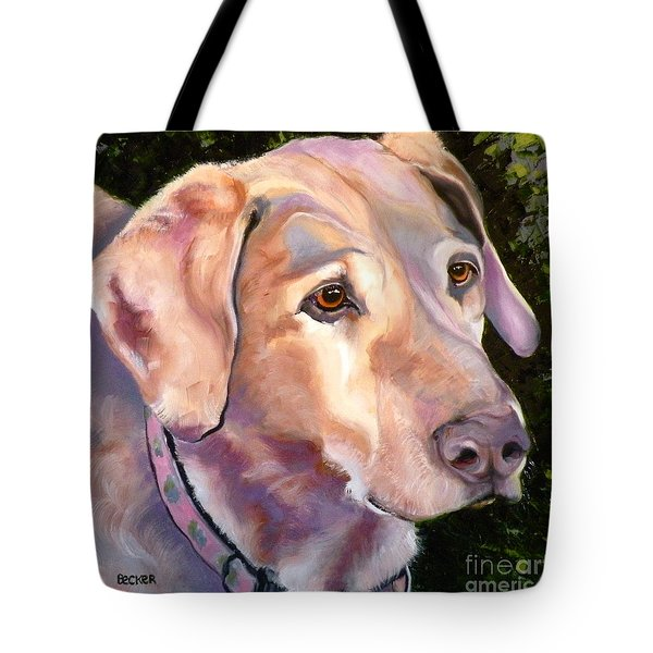 Lab One Of A Kind Tote Bag