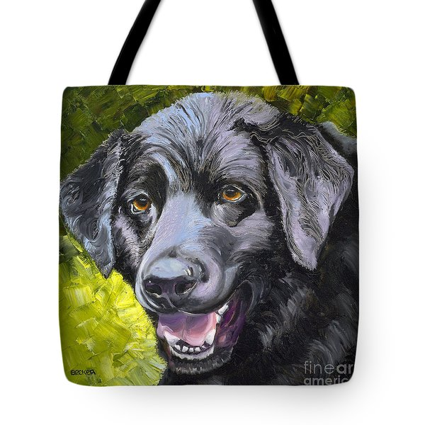 Lab Out Of The Pond Tote Bag