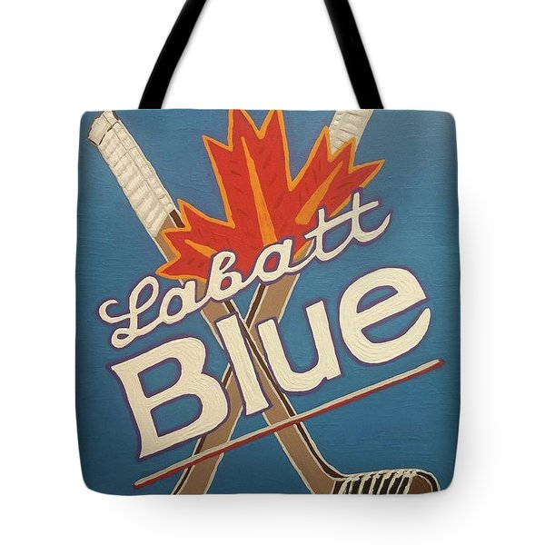 Labatt Blue Tote Bag