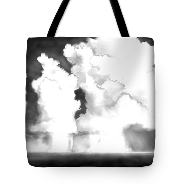 Tote Bag featuring the digital art Labor Day by Kerry Beverly