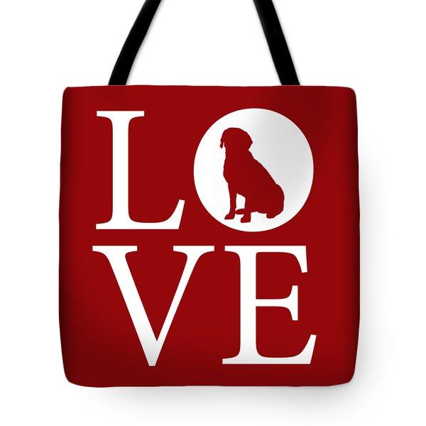 Labrador Love Red Tote Bag