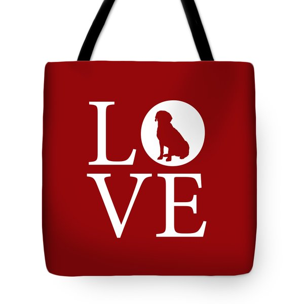 Labrador Love Red Tote Bag