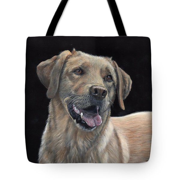 Labrador Portrait Tote Bag