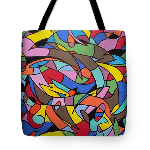 Labrynith Tote Bag