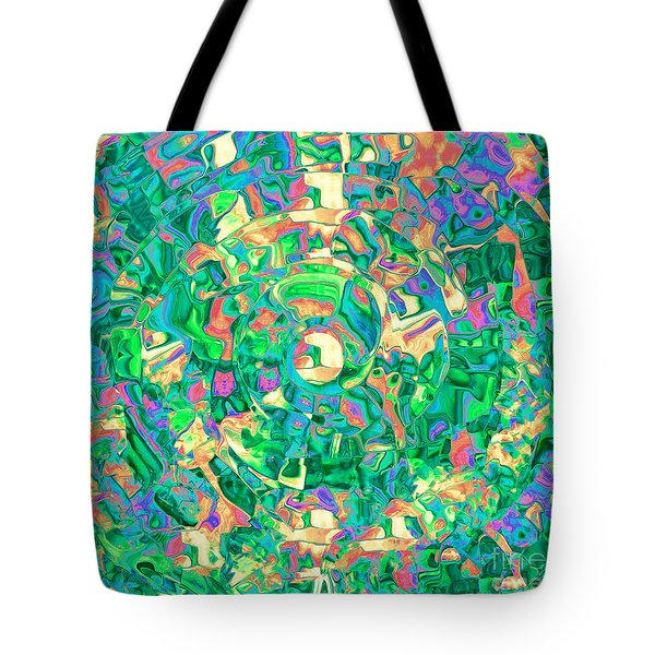 Labrynth Greens Tote Bag