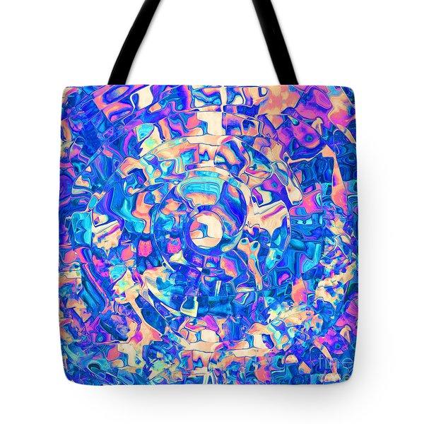 Labyrinth Abstract Tote Bag
