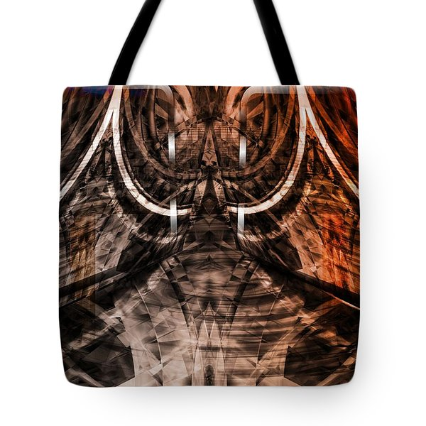 Tote Bag featuring the digital art Labyrinth by Art Di