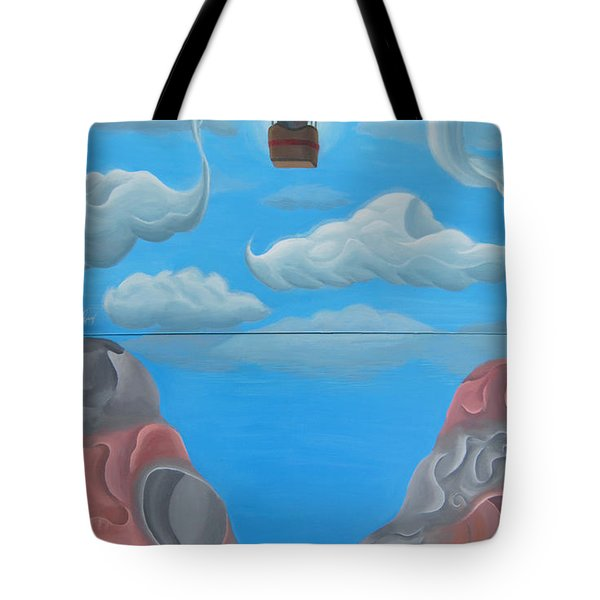 Labyrinth Diptych Tote Bag