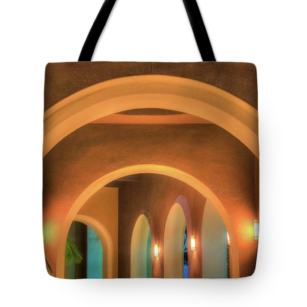 Labyrinthian Arches Tote Bag