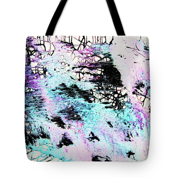 Tote Bag featuring the painting Labyrinthine Web by Roberto Prusso