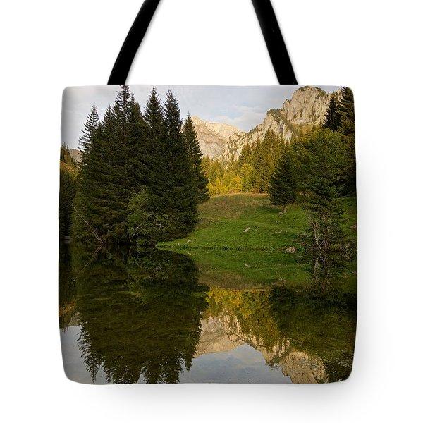 Lac De Fontaine Tote Bag