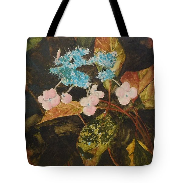 Lace Cap 2 Tote Bag by Jean Blackmer