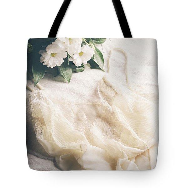 Laced Underwear Tote Bag