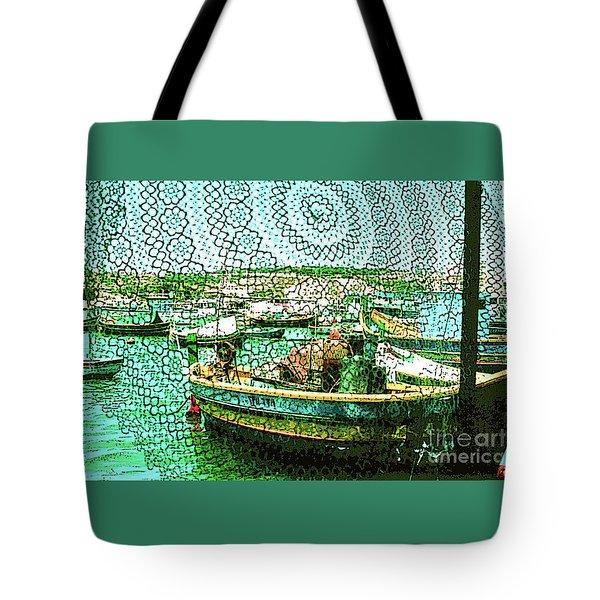 Lacework Tote Bag