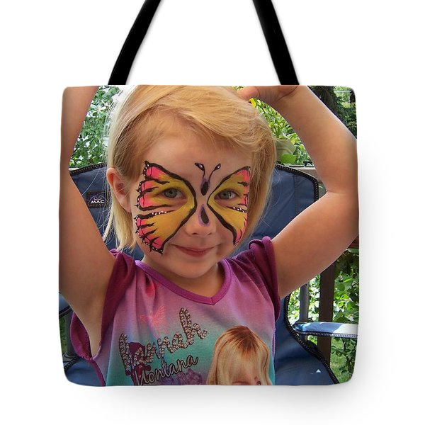 Lacey The Butterfly Tote Bag