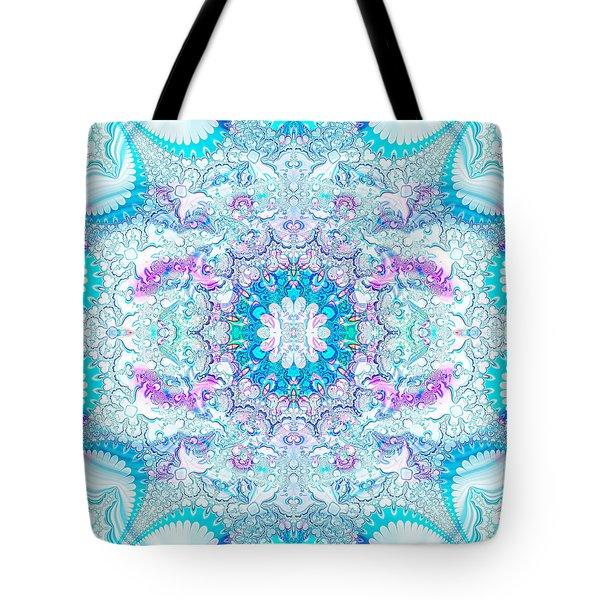 Lacy Mandala Tote Bag