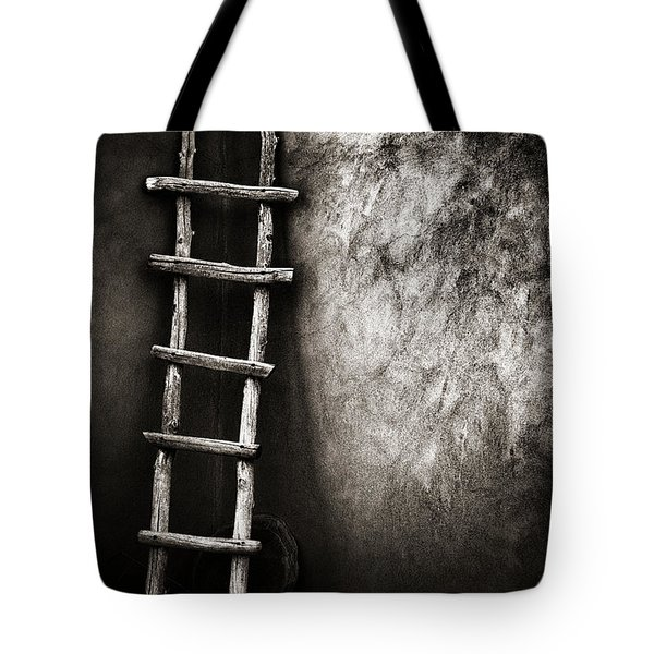 Ladder In Truchas New Mexico Tote Bag